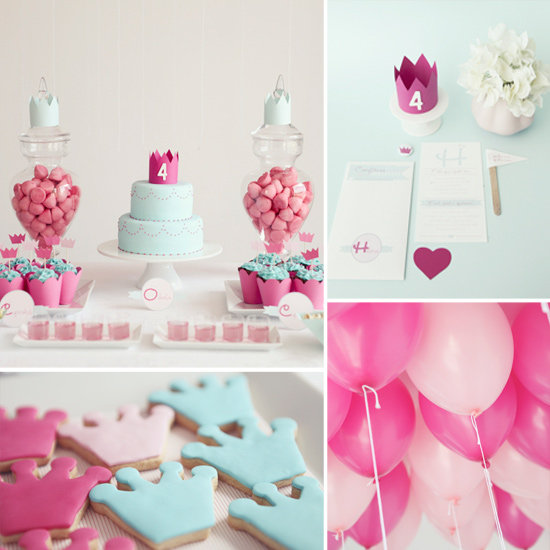 Elegant-Simple-Princess-Birthday-Party